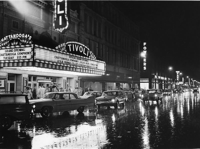 1950's, first Tivoli Theatre performance